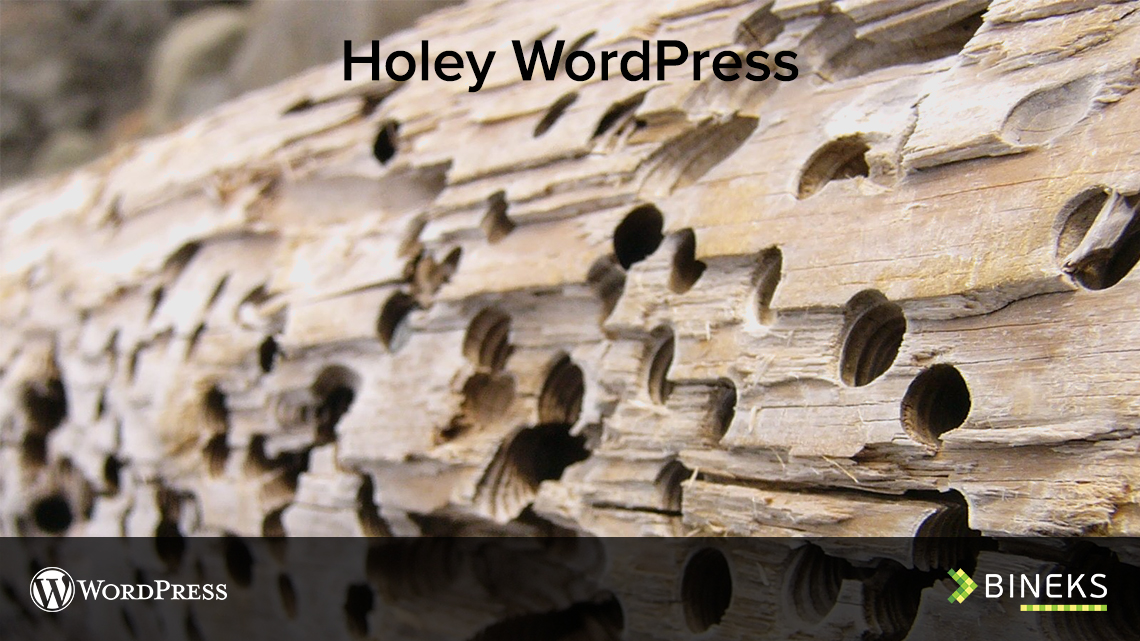 Holey WordPress